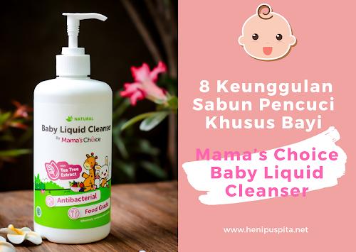 Sabun Pencuci Khusus Bayi Mama's Choice Baby Liquid Cleanser
