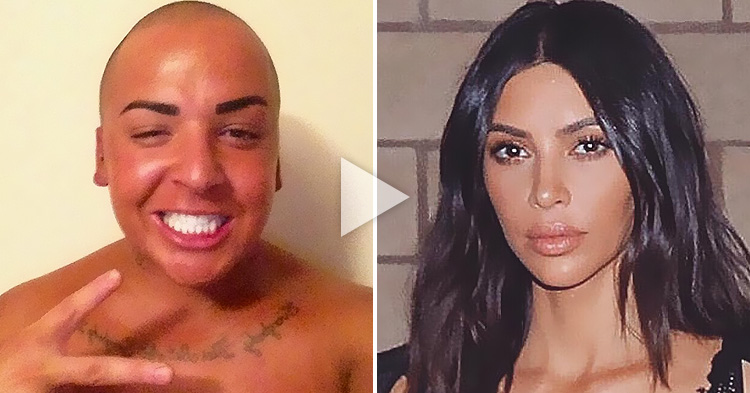 This Man spent $150,000 on Plastic Surgery to look like Kim Kardashian