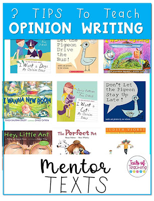 opinion-writing-mentor-texts