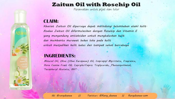 REVIEW: Azalea Zaitun Oil with Rosehip Oil (Azalea Beauty Hijab - Beauty from Sunnah)