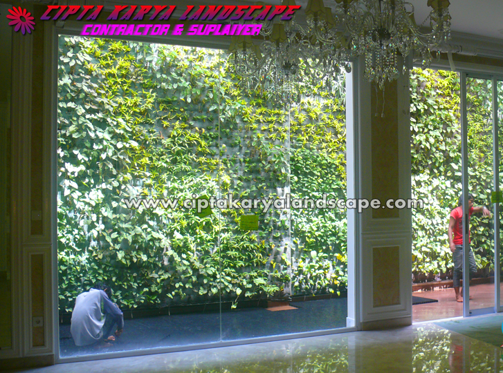Tukang taman jakarta | taman vertikal | CIPTA KARYA LANDSCAPE : jasa tukang taman