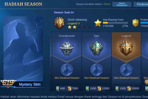 Skin Season 19