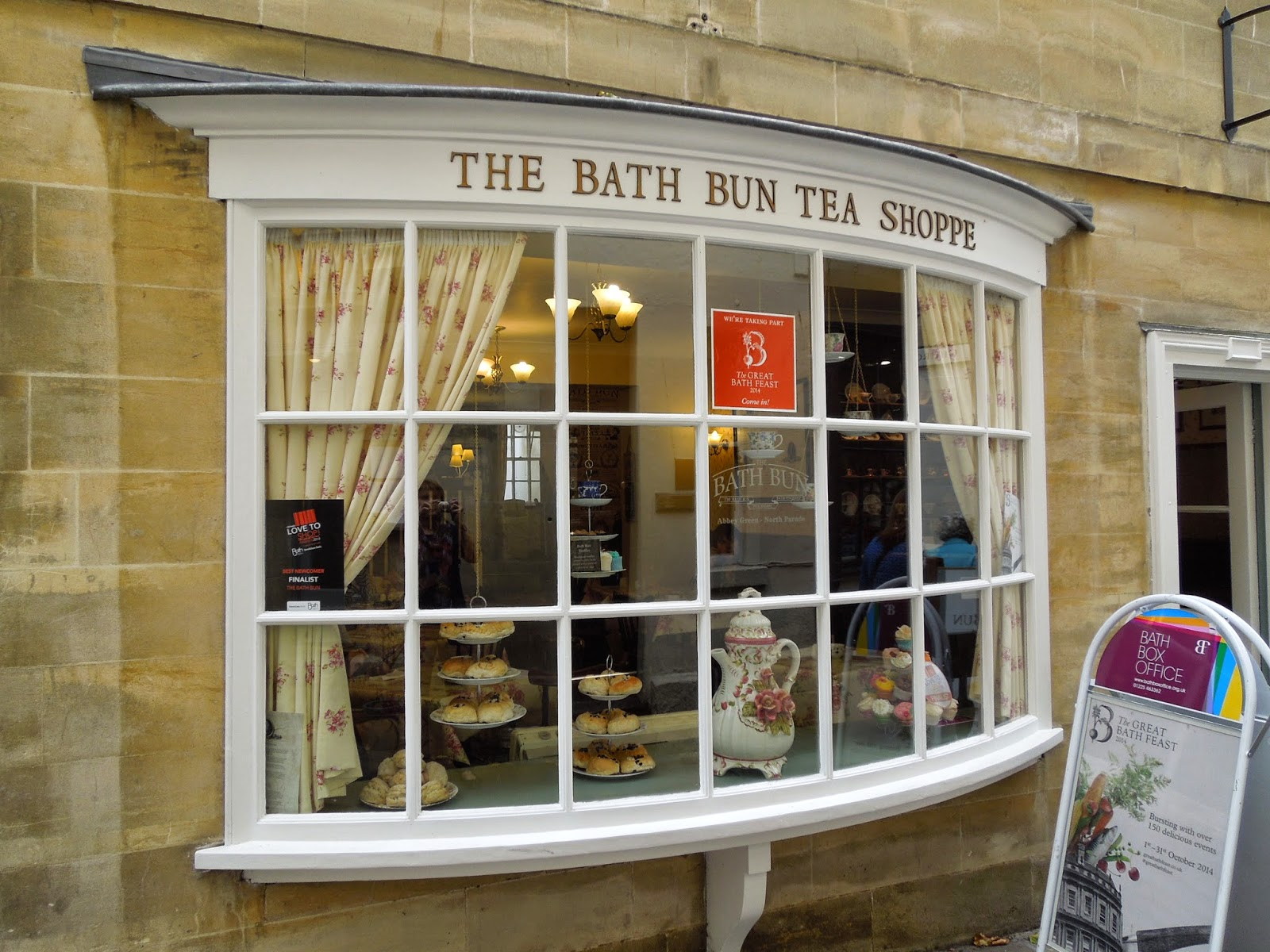 Bath Bun Tea Shoppe