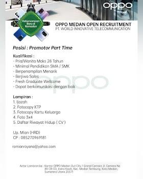Lowongan Kerja Medan April 2021 Lulusan SMA/SMK Di PT World Innovative Communication