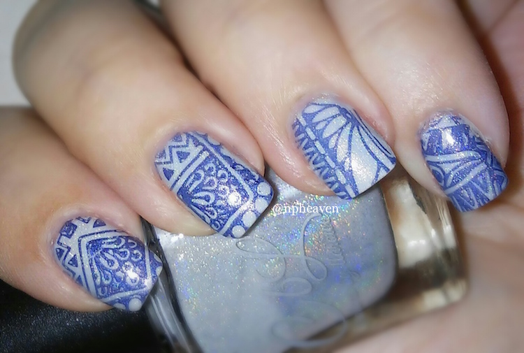 ice nail art