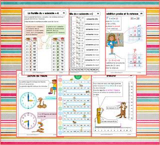 Livret des leçons mathématiques, numération, géométrie, calcul