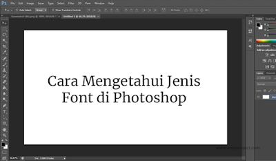 Cara-Mengetahui-Jenis-Font-di-Photoshop