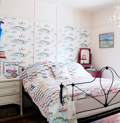 Boating Wallpaper in Bedroom