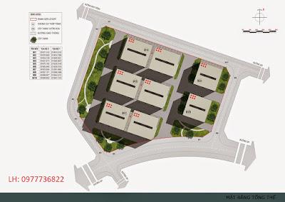 Vị trí tổng quan dự án chung cư Thanh Hà Cienco 5