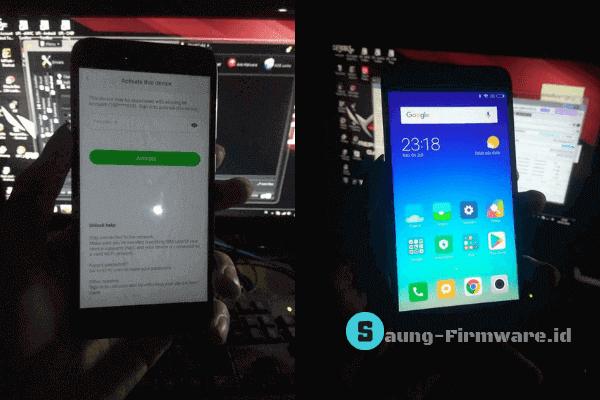 Cara Bypass Mi Akun Redmi 5A (Riva) Fix Sensor Gratis