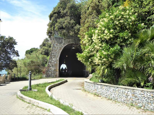galleria ciclopedonale Arenzano Cogoleto