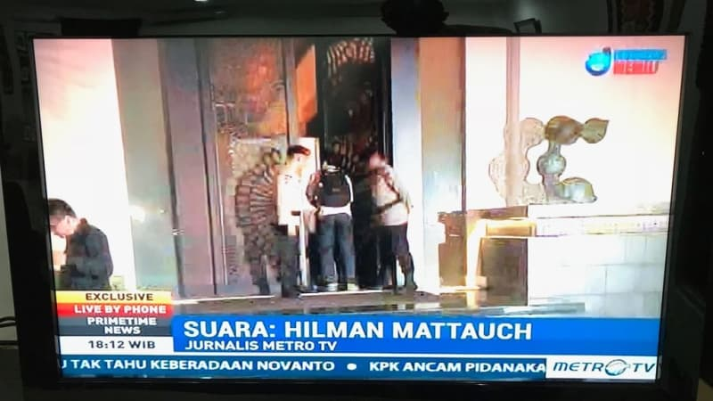 Heboh Hilman, Sopir Novanto Saat Kecelakaan, Ternyata Kontributor MetroTV