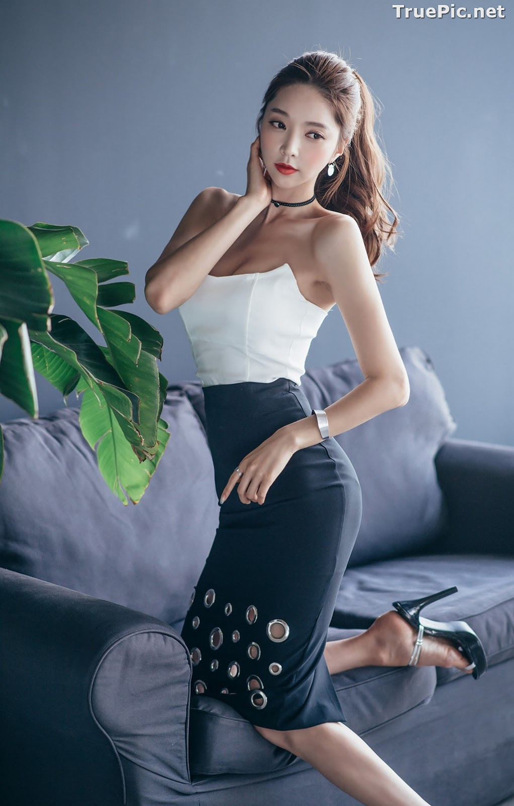 Image Korean Beautiful Model – Park Soo Yeon – Fashion Photography #3 - TruePic.net - Picture-10
