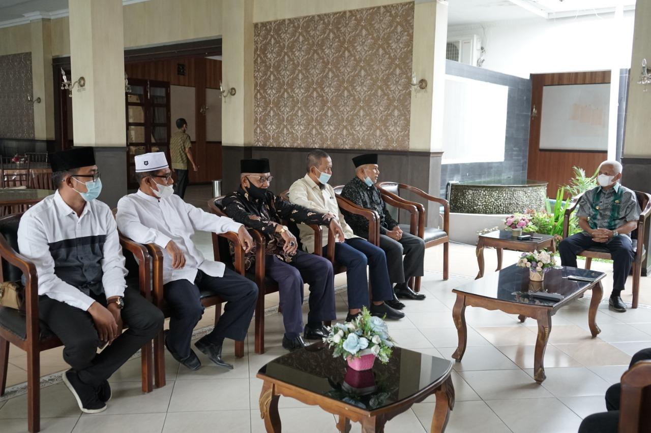 Terima Audensi  STIE Muhammadiyah Asahan, H Surya Bsc : Pemkab Asahan Membuka Diri Untuk Perguruan Tinggi