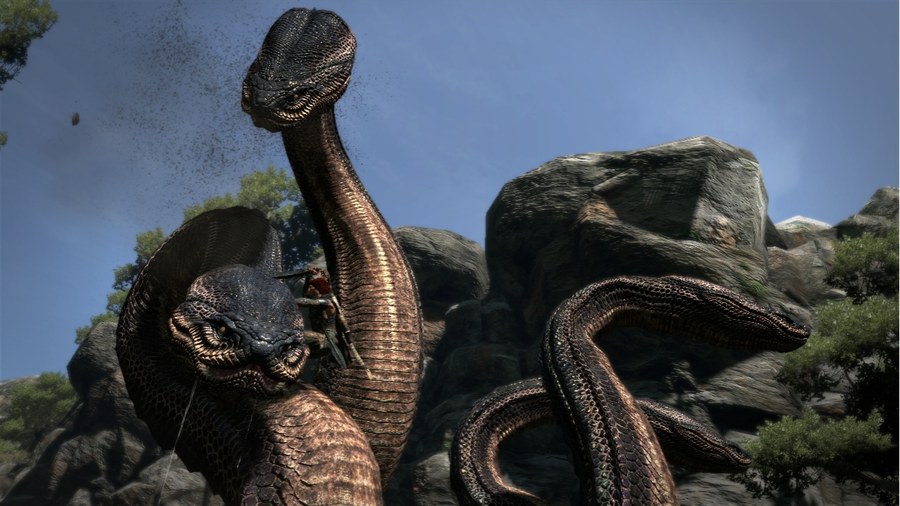 Dragons Dogma Hydra Vector Game