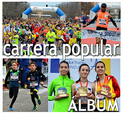 Carrera Popular Aranjuez Fotos Video
