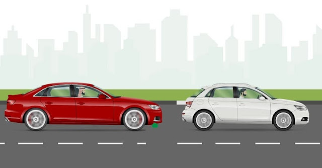 Muroor warns of not leaving sufficient Distance between Vehicles, clarifies its Penalty - Saudi-Expatriates.com