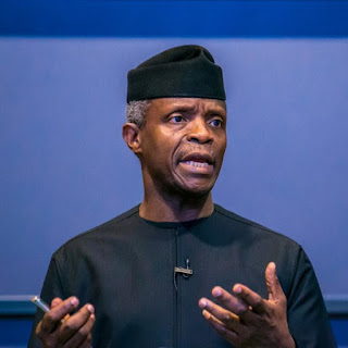 """Just IN: """"Nigerian Youths Are Really Doing Well"""" – Osinbajo Counters Buhari"""