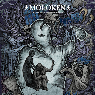 "Moloken - ""Unveilance Of Dark Matter"" - 2020, Atmospheric Sludge / Post-Hardcore"