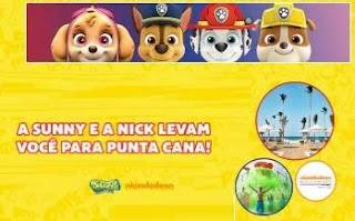 Cadastrar Promoção Sunny Brinquedos Patrulha Canina e Nick - Viagem Punta Cana