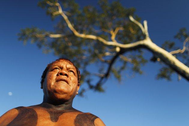 Gambar Aktivitas Kehidupan Suku Yawalapiti di Hutan Amazon