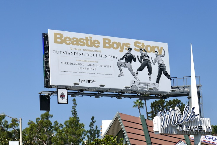 Beastie Boys Story Emmy nominee billboard