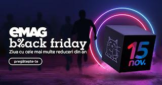 EMAG Black Friday 15.11 2019 → pana la 64% reducere