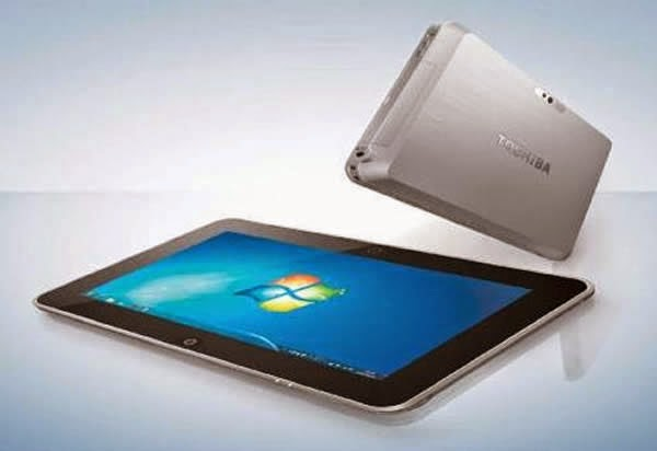 Tablet Toshiba Dynabook WT301/D, Tablet 10 Inchi Berbasis Windows 7