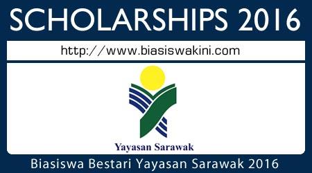 Biasiswa Bestari Yayasan Sarawak 2016