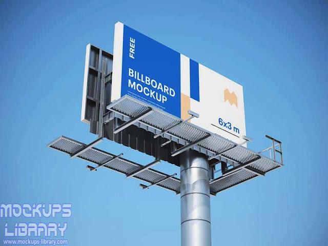 free billboard mockups psd 1
