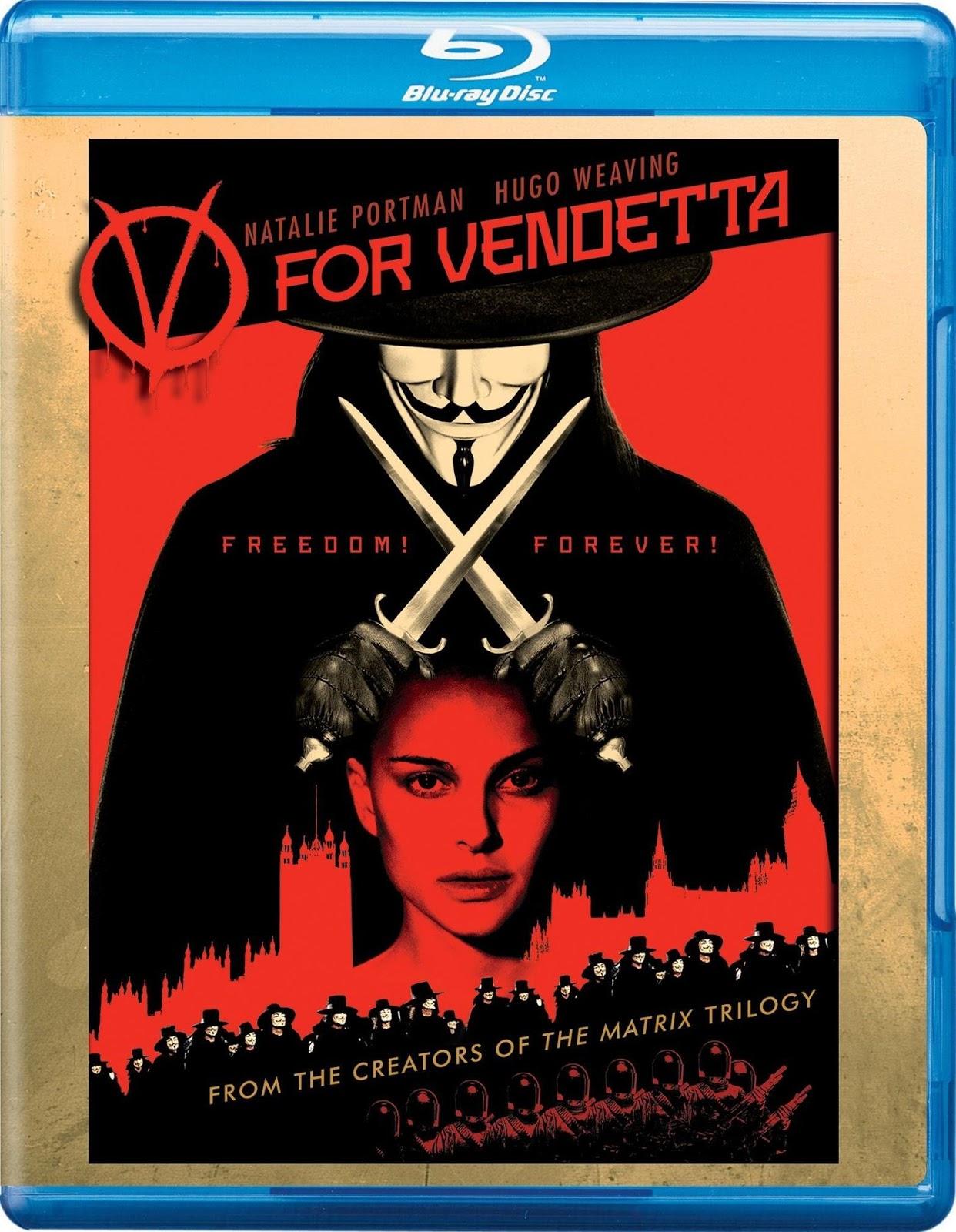 Download V For Vendetta 2005 x264 720p Esub BluRay 6 0 Dual Audio English Torrent