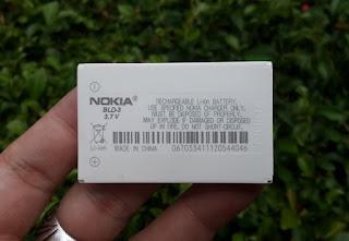 Baterai Nokia BLD-3 Jadul Murah Nokia 2100 3200 6610