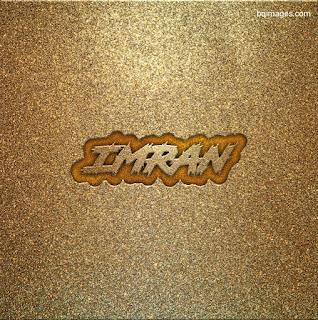imran logo name 3d