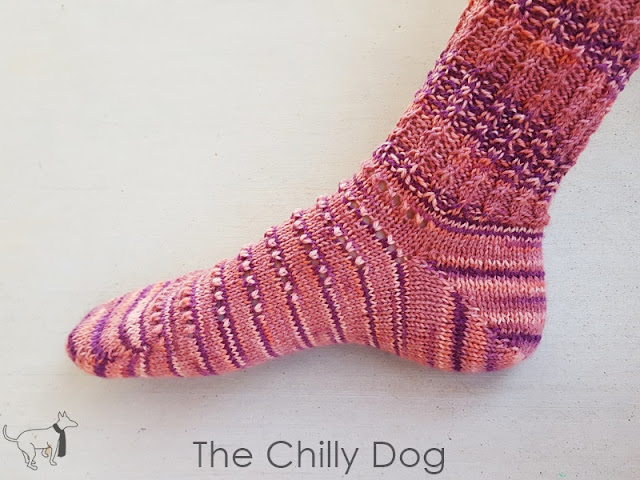 Knitting Tutoirial:Yarn over short row heels are easy to knit and create a neat join on the sides of your sock heel.