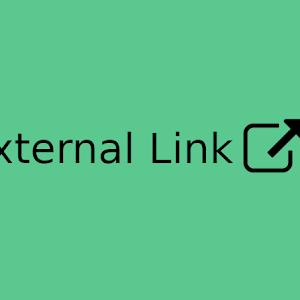 Membuat Ikon Untuk Link External Menggunakan SVG dan Font Awesome