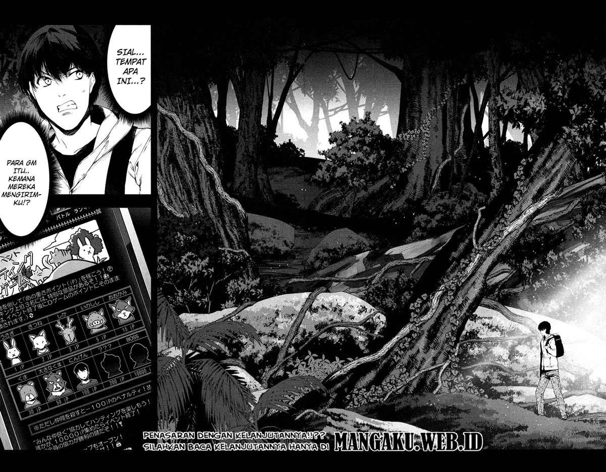 Darwin's Game Chapter 34-45