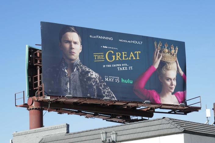 The Great series premiere billboard