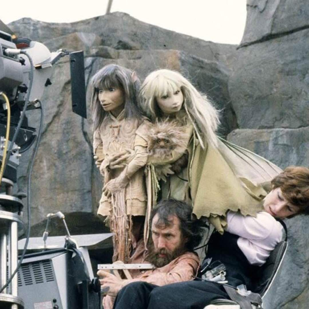 The Dark Crystal(1982)BTS Photo : 80年代のファンタジー映画のカルト作「ザ・ダーク・クリスタル」の撮影の様子のメイキング・フォト ! !