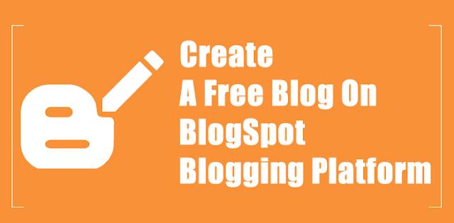 Cách tạo blog cá nhân từ blogspot