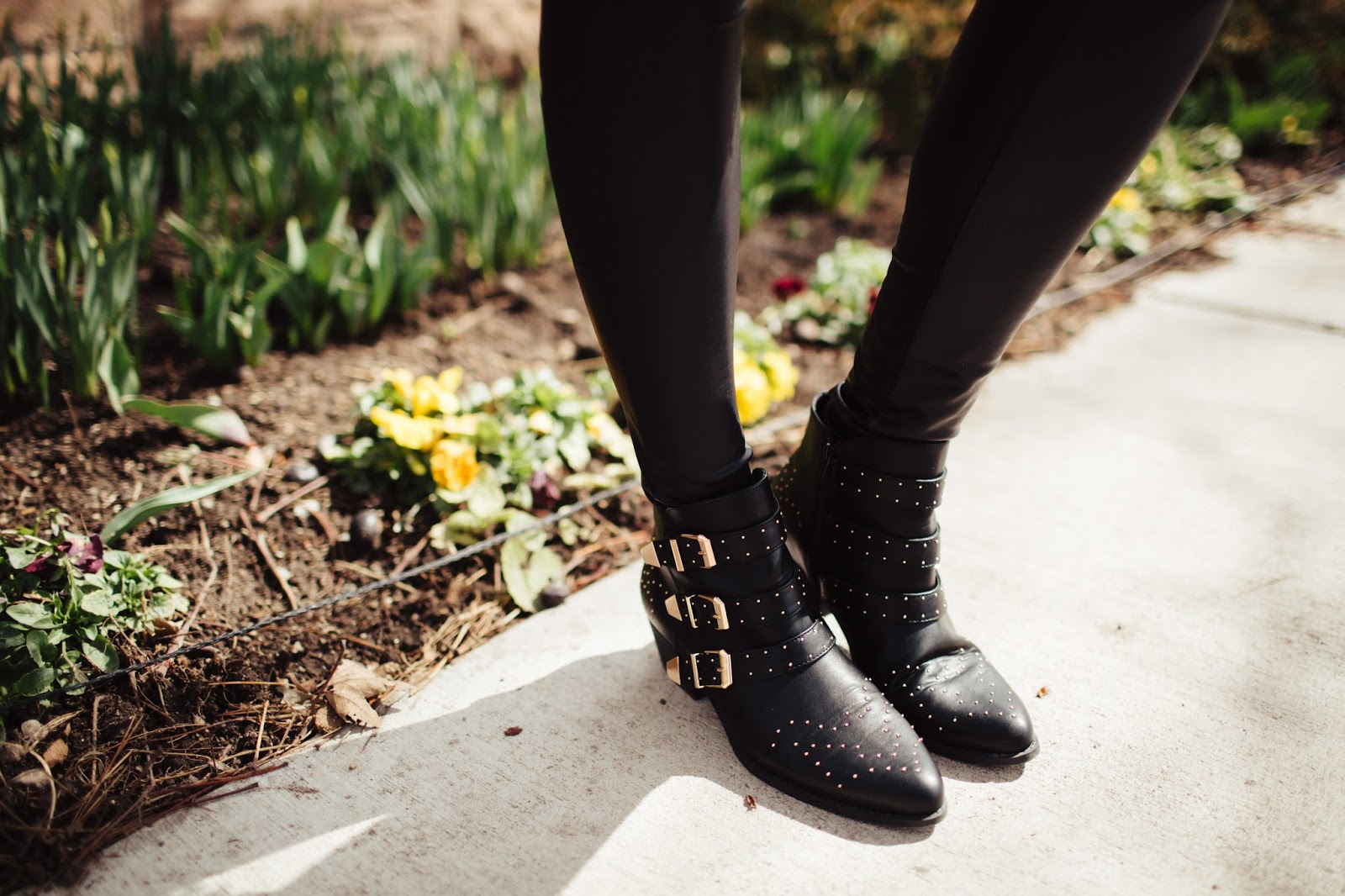 Studded Boots, Black Booties, Winter Booties