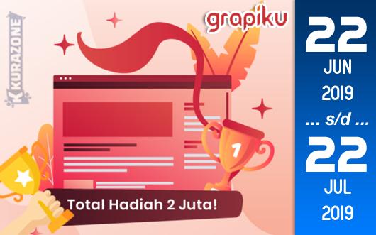 Kompetisi Blog - Grapiku Berhadiah Uang Tunai dan Kupon Diskon (Deadline 22 Juli)