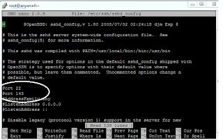 Cara Membuka atau Menambahkan Port SSH Linux Server