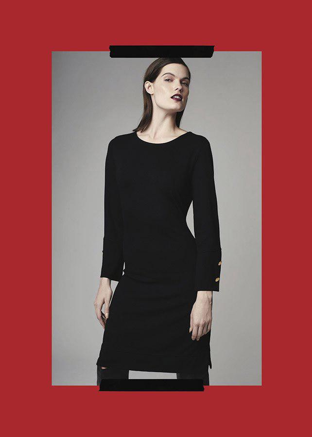 Vestidos otoño invierno 2020 ropa de moda.