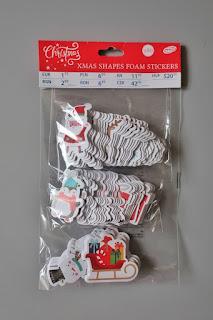 zakupy pepco naklejki piankowe świąteczne