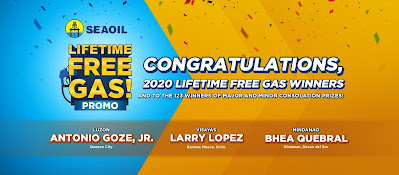 seaoil free gas