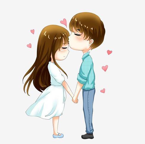 love kiss dp