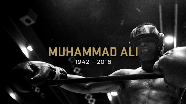 Muhammad Ali, 1942-2016. Image: Foxsport