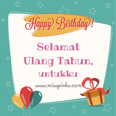 selamat ulang tahun untukku