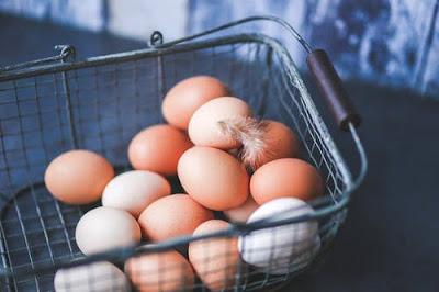 telur dapat menyebabkan alergi bagi sebagian orang