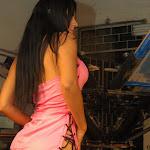 Andrea Rincon, Selena Spice Galeria 38 : Baby Doll Rosado, Tanga Rosada, Total Rosada Foto 8